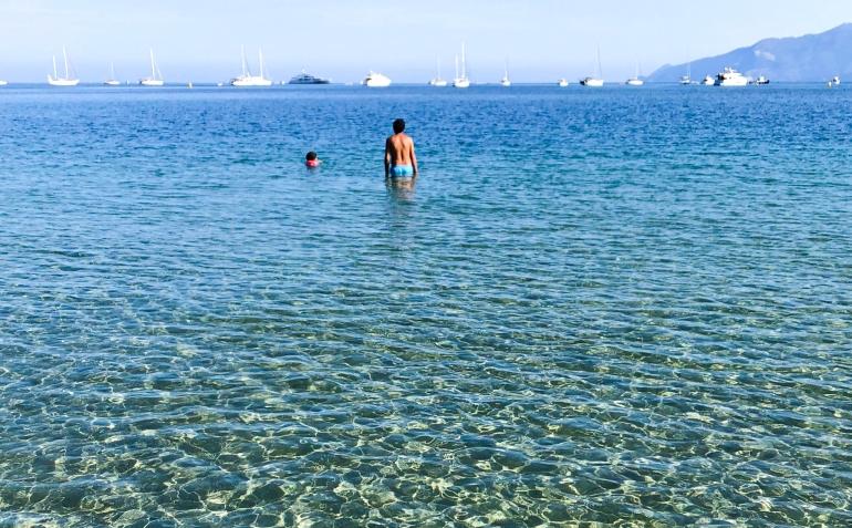 San Fiorenzo e la sua acqua cristallina