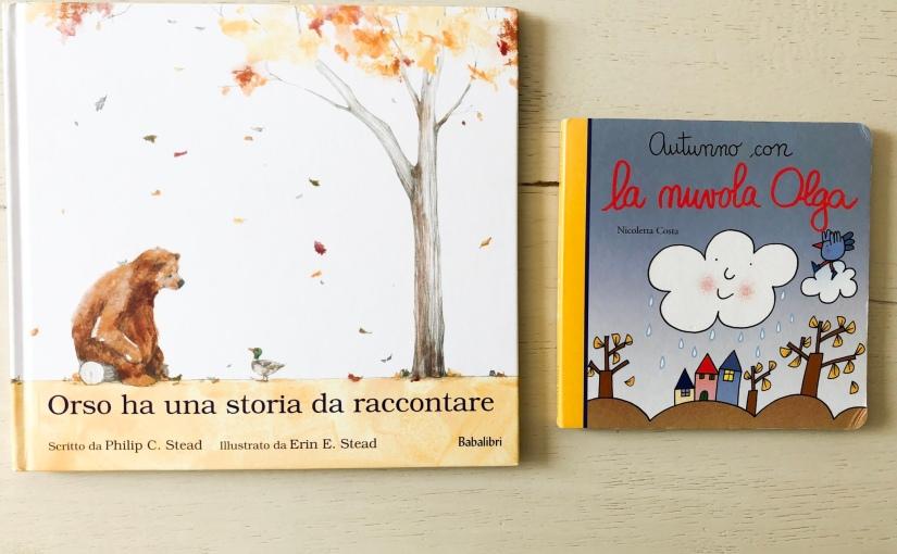 Libri per bambini: due impedibili letture sull'autunno