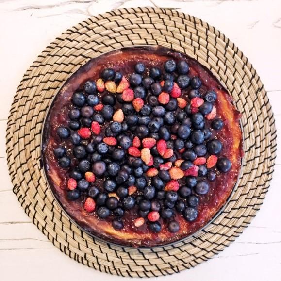ricetta cheesecake ai frutti di bosco fatta in casa